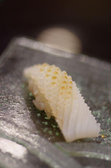 IKA, Squid Nigiri Sushi いか