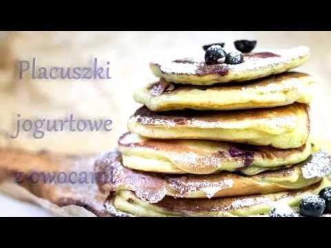 Placuszki jogurtowe z owocami | Ugotowani.tv HD - YouTube