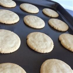 Easy Sugar Cookies, just made this. Fast and easy. Just dump in all the ingredients and mix. Soft and chewy, frost great!
