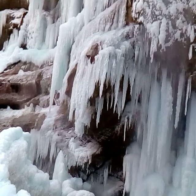 Зима#1#января#2017#Кавказ#Кабардино#Балкария#Чегемские#водопады#