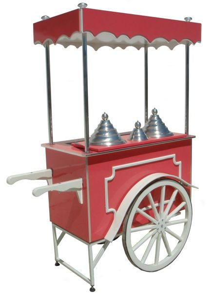 Ice cream cart - Charrette à glace - Carretto gelati - Eiswagen - Carrito de helados