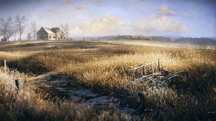 The Grass Field created by Gleb Alexandrov.