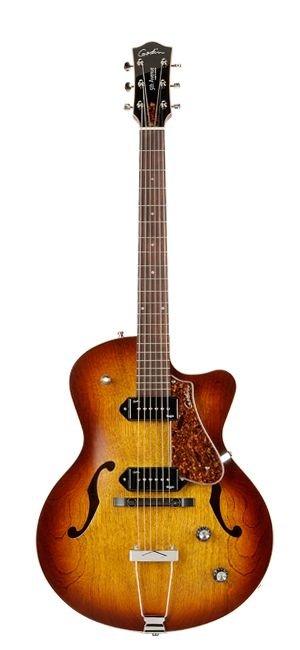 Godin Guitars 5th Avenue Series CW Kingpin II Cognac Burst