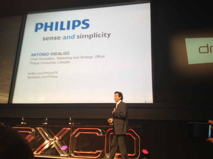 Antonio Hidalgo (Chief Innovation, Marketing and Strategy Officer, Philips)
