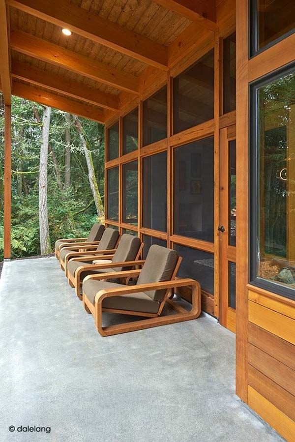 Fascinating prefab cabin on Vashon Island, Washington | Prefab cabins,  Prefab and Cabin
