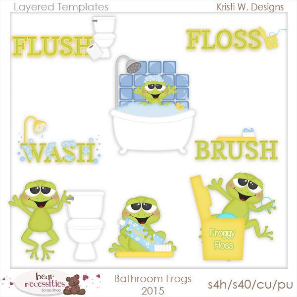 Photo Album For Website Bathroom Frogs Kristi W Designs Templates Animal TemplatesDesign TemplatesFrogsClip ArtPhotoshop