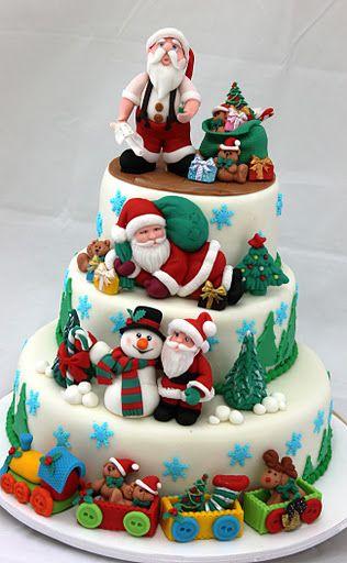 @Kathleen DeCosmo ♡❤ #Cakes ❤♡ ♥ ❥ #Christmas Cake