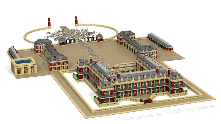 an analysis of the architecture of the palace at versailles