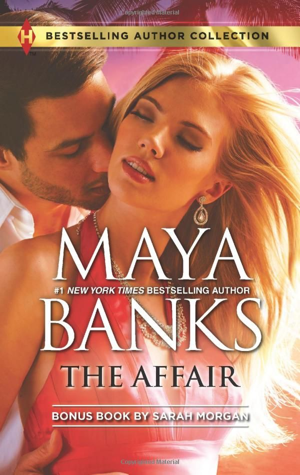 The Affair: One Night...Nine-Month Scandal (Harlequin Bestselling Author): Maya Banks, Sarah Morgan: 9780373180783: Amazon.com: Books