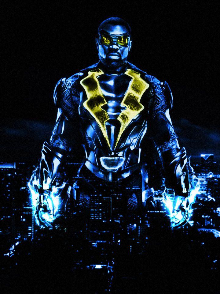 Blacklightning Premiere Was Solid Can T Wait For Next Week Cress Williams Is Excellent Fanart Black Comics Black Lightning Static Shock Black Lightning