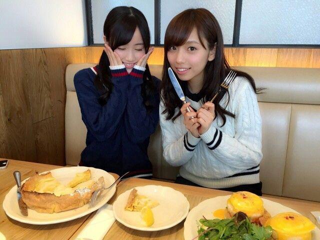 乃木坂46 星野みなみ 新内眞衣 Nogizaka46 Hoshino Minami Shinuchi Mai