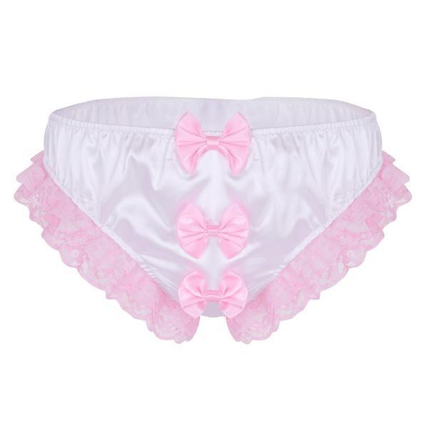 TURQUOISE Shiny SATIN ivory lace mini TANGA string bikini brief SIZES XS-XXL
