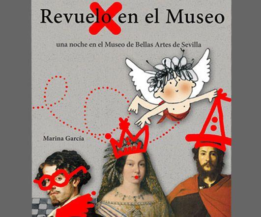 Álbum ilustrado para niños dedicado al Museo de Bellas Artes de Sevilla.