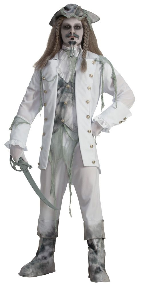 Ghost captain men std costume Popular Halloween Costume Ideas 2018 - halloween costumes ideas men