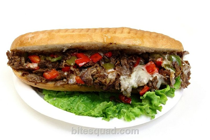 You don't have to go to Philly for this one! Zakia Deli's Philly Cheese Steak Sandwich is LEGIT! bitesquad.com delivers #Minneapolis $5.99