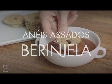 Receita de Berinjela Empanada Assada - Saudável (Fit) em vídeo   Gourmet a Dois