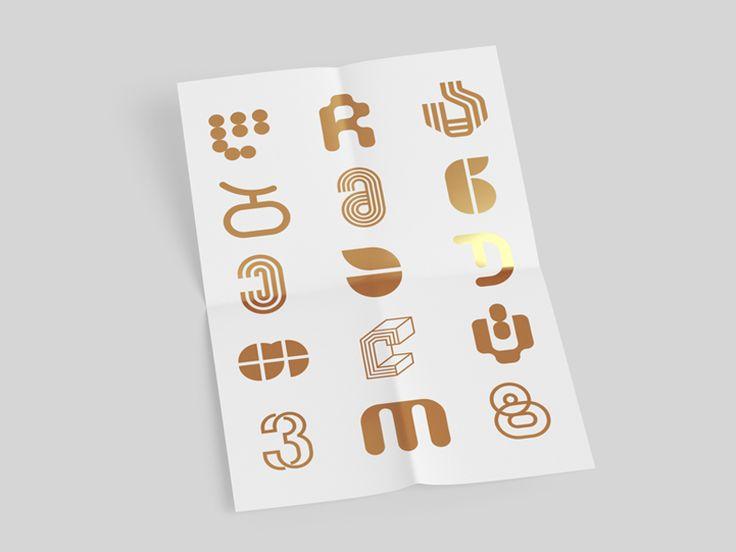 Georgian alphabet by George Bokhua #Design Popular #Dribbble #shots