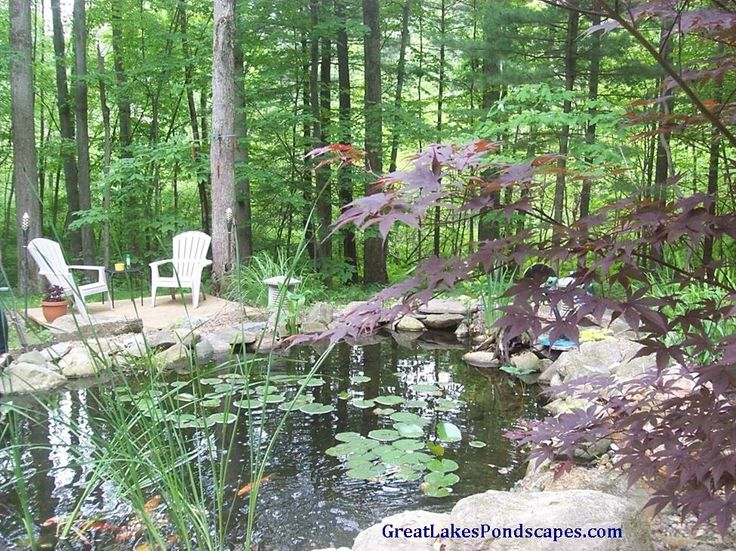 24 best ponds in woods images on pinterest waterfalls for Koi pond the woodlands tx