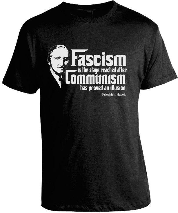 Friedrich Hayek Anti Communism T-Shirt