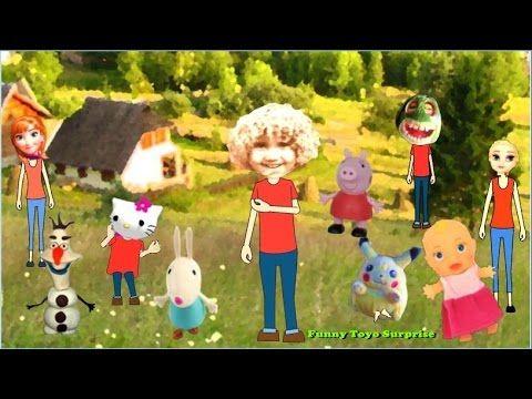 Nurse's Song Poetry Kids Talking Toys Pokemon Elsa Peppa Pig Kitty Animation Funny Toyo Surprise - YouTube