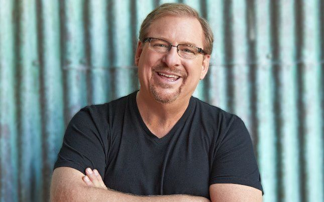 Pastor Rick Warren's Life-Changing Message: The Connection Between Getting Healthy and Doing Good #DanielPlan