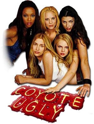 Poster Of Coyote Ugly (2000) Full Movie Hindi Dubbed Free Download Watch Online At …::: Exclusive On All-Free-Download-4u.Com Team :::…