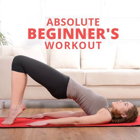 Absolute Beginner's Workout - if you're an absolute beginner this is a great place to start! #beginners #beginnersworkout #workouts