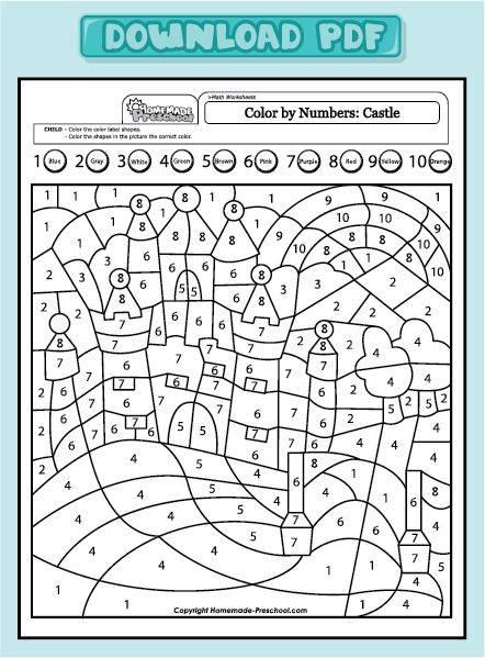 Creative, hands-on preschool worksheets, are just what a preschooler needs. Each one is full of activity ideas, making learning fun!