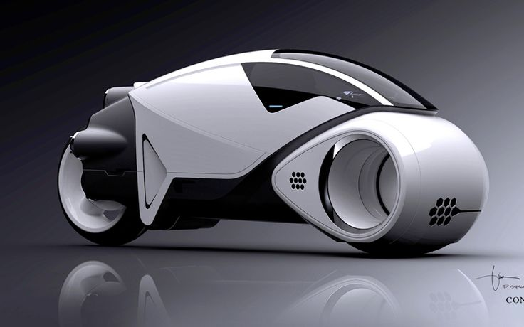 Bugatti Motorcycle | former Bugatti designer recreates Light Cycle Vehicles for Tron:Legacy