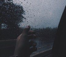 alternative, blue, grunge, rain, sad