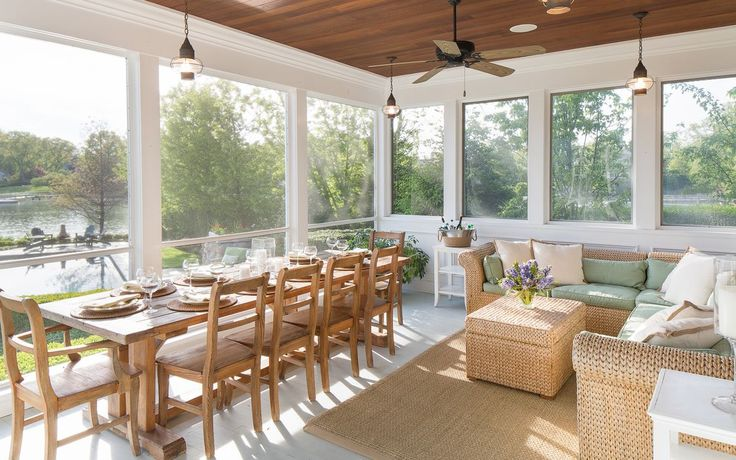 Year Round All Weather Screened In Porch 1060 Bay Head