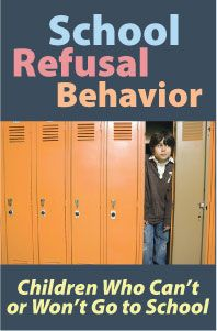 School Refusal Behavior: Children Who Can't or Won't Go to School https://www.pdresources.org/course/index/1/1089/School-Refusal-Behavior-Children-Who-Cant-or-Wont-Go-to-School - repinned by @PediaStaff – Please Visit ht.ly/63sNt for all our ped therapy, school psych, school nursing & special ed pins
