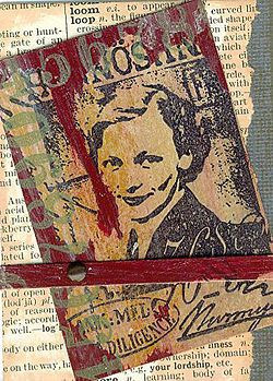 How to make Artist Trading Cards. @Linda Nielsen, I think you'd like these for your class.