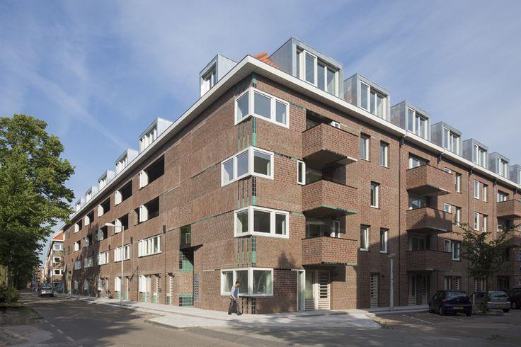 Tugelablokken / M3h Architects / Ymere Ontwikkeling / Tugelaweg 42-50