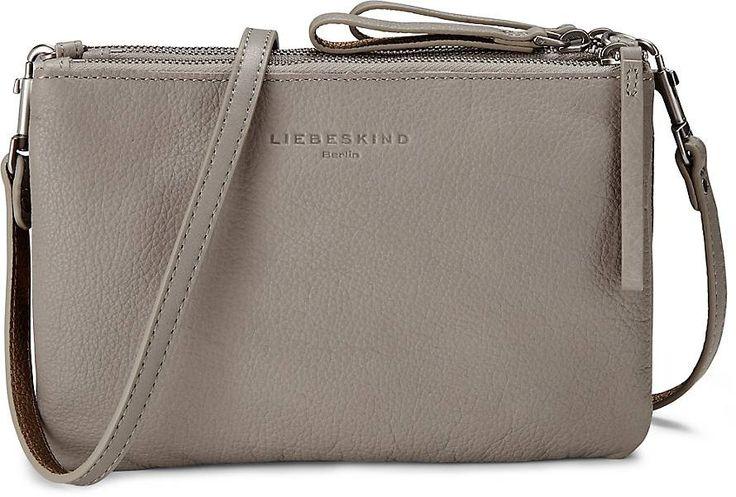 Crossbody Bag CELIA von Liebeskind in grau hell für Damen. Gr. 1
