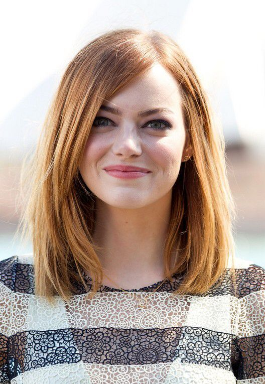 25 trending collarbone length hair ideas on pinterest hair emma stone lob collarbone length urmus Choice Image