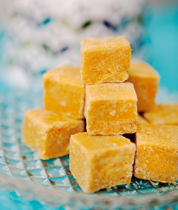 Saffransfudge med vit choklad | Söta saker