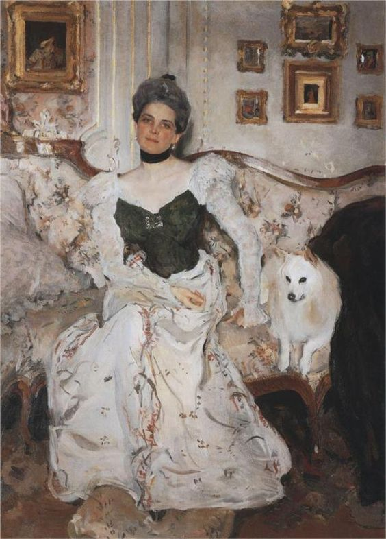 Portrait of Zinaida Yusupova, 1902  Valentin Serov: