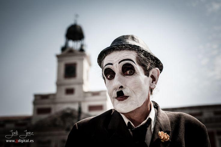 Charles Chaplin (Puerta del Sol - Madrid)