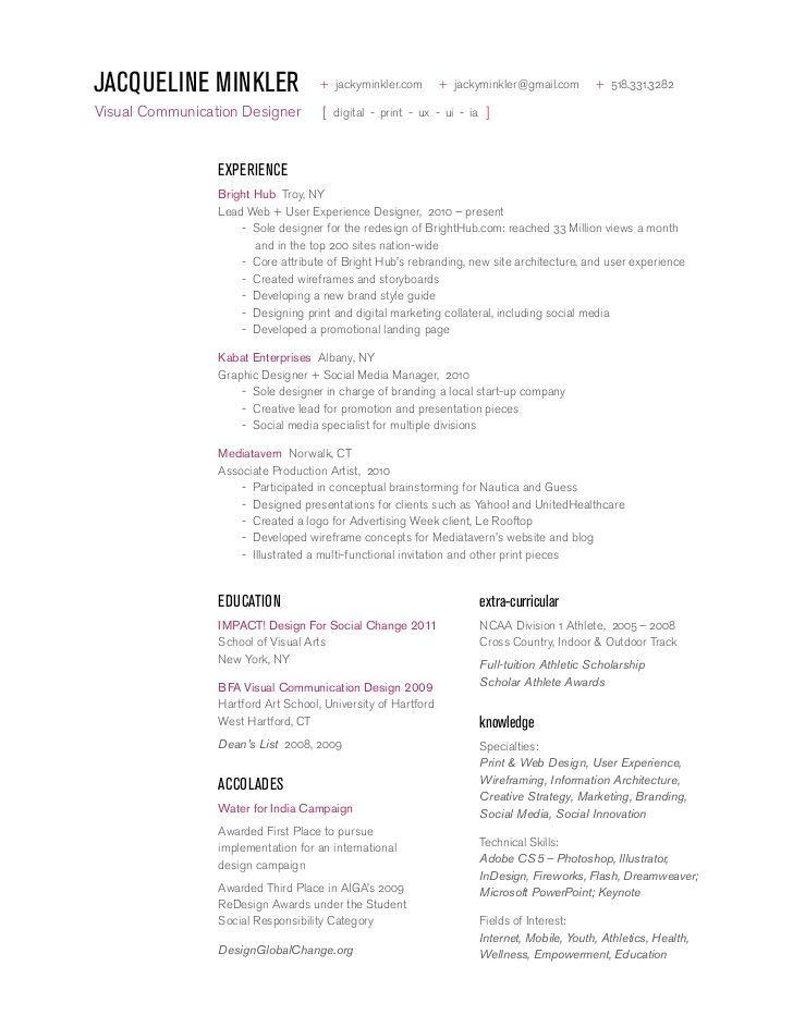 9 best Resumes images on Pinterest Curriculum, Resume and Sample - user experience architect sample resume