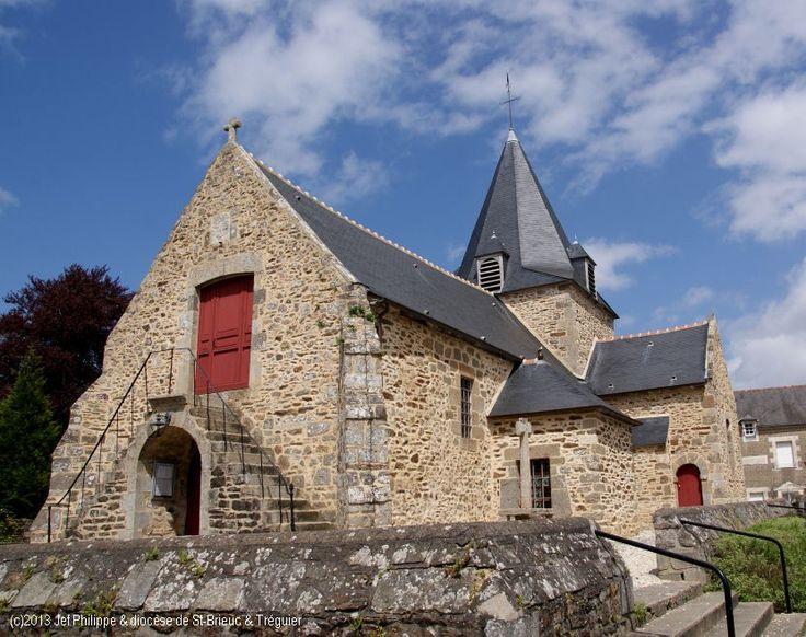 Église St-Laurent, à Saint-Laurent-sur-Rance.