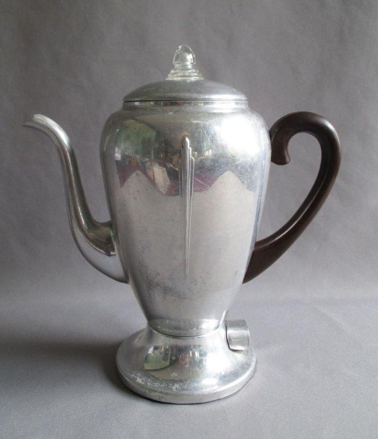 Mirro Percolator Coffee Maker : Vintage Mirro Matic 102M Percolator Coffee Maker Pot 8 Cup Bakelite Aluminum #MirroMatic # ...