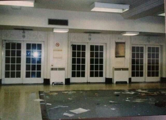 Eaton's elevator before demolition 1989...vintage hamilton