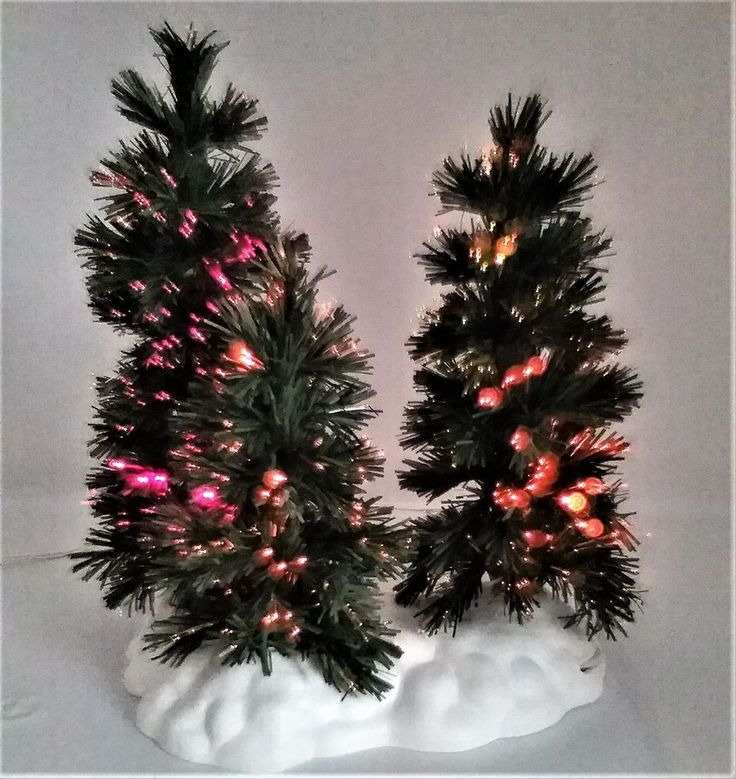 Lemax Village Collection Fiber Optic Musical Tree