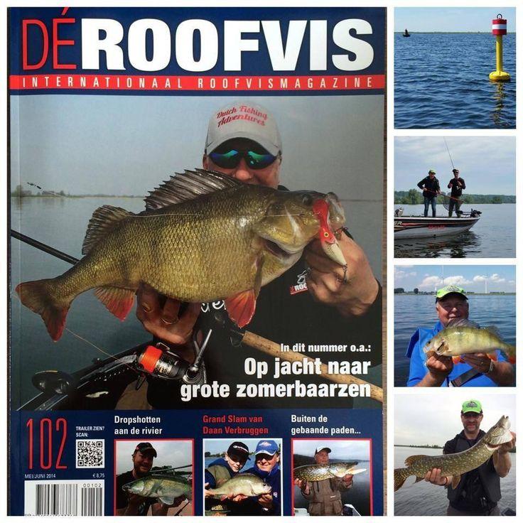 Cover de Roofvis internat Angling magazine for predatory fresh water fish