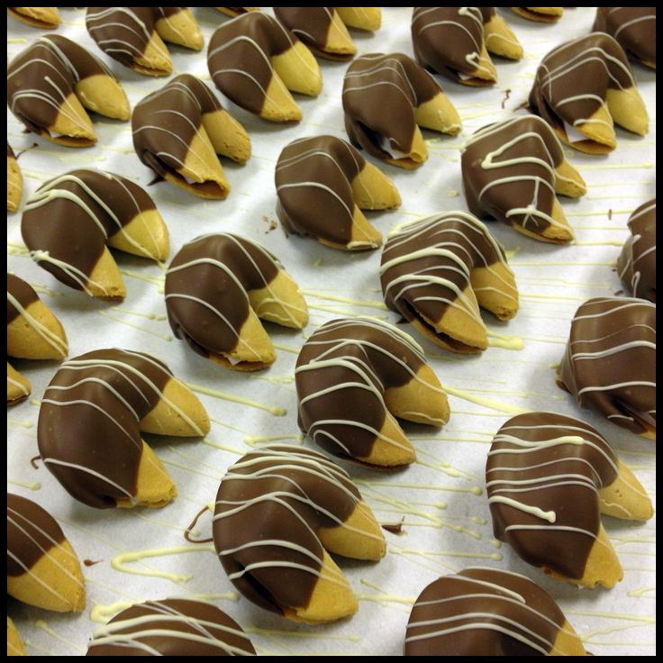 Chocolate Covered Fortune Cookies Toronto