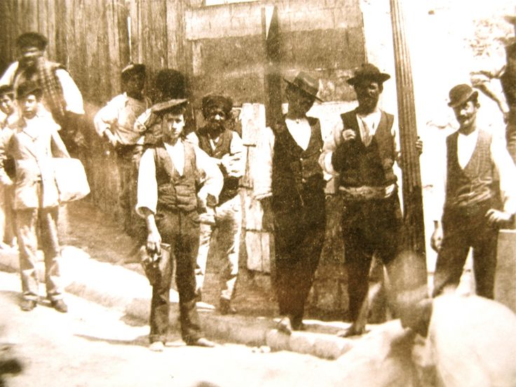 Late 19th century types by the port at Valletta 1884 (Lea Francis Ellis) Tags: by century port late types 19th valletta 1884
