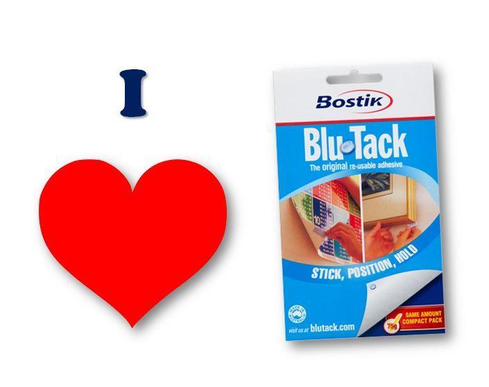 Pin this if you love Blu-Tack