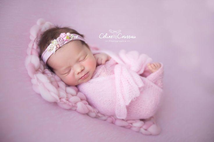 rose pink handspun hand dyed mini blanket bonnet layer photography photo props newborn woolanddreams wool chunky shade