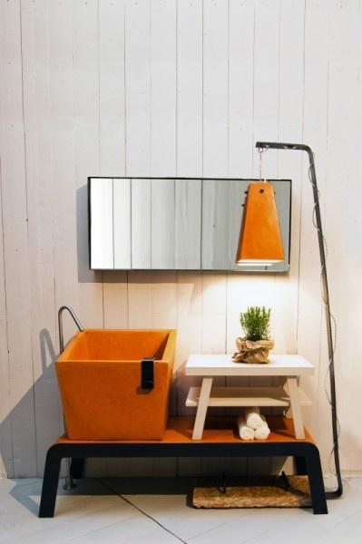 Die besten 25+ Orangene badspiegel Ideen auf Pinterest Orange - badezimmerspiegel mit tv